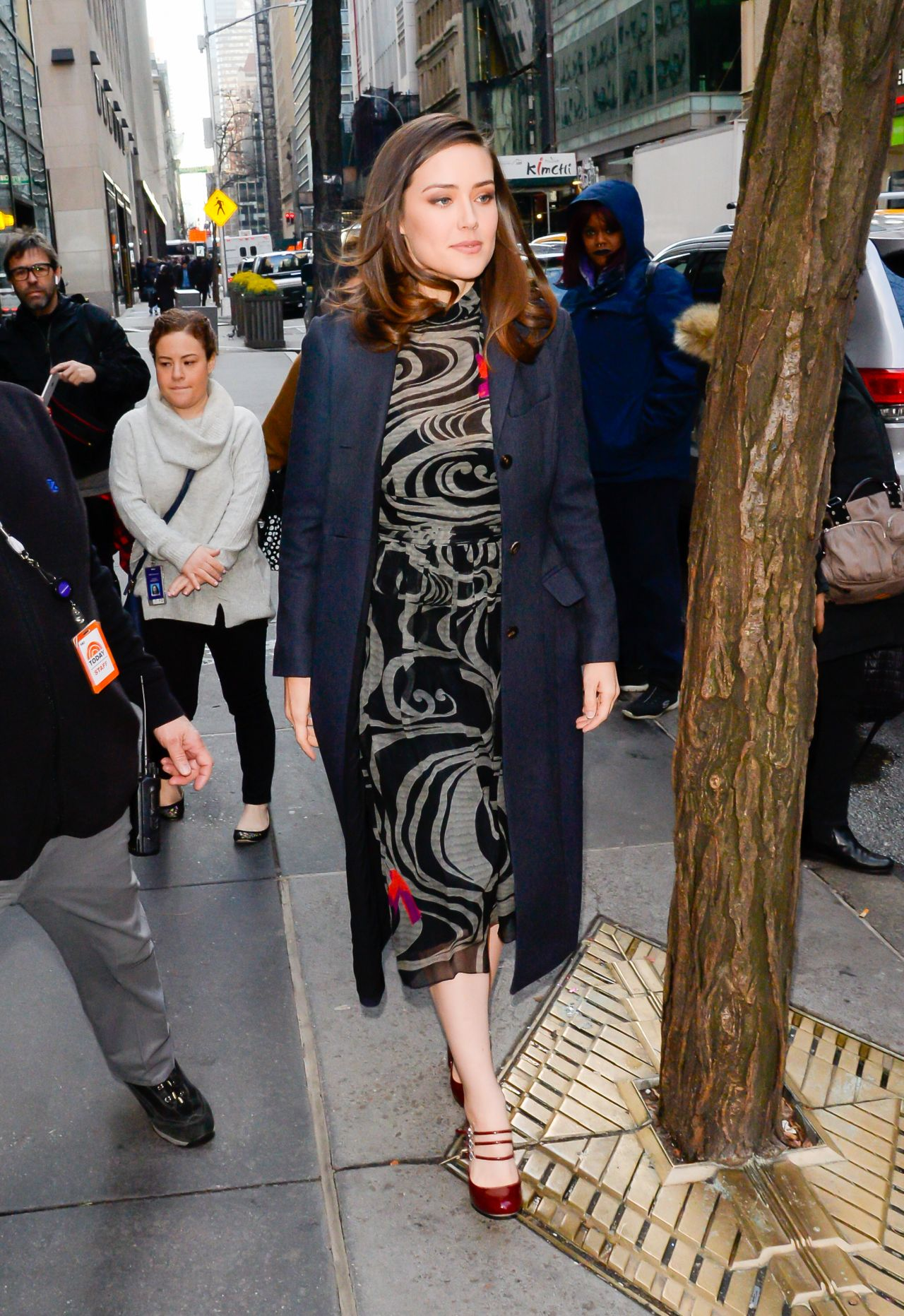 Megan Boone Outside The Today Show In New York 01 09 2019