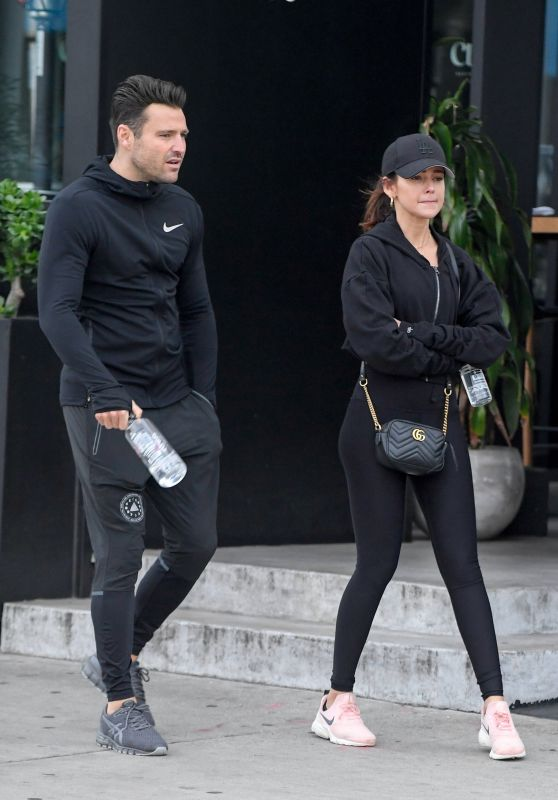 Michelle Keegan - Leaving Joans on Third in LA 01/15/2019