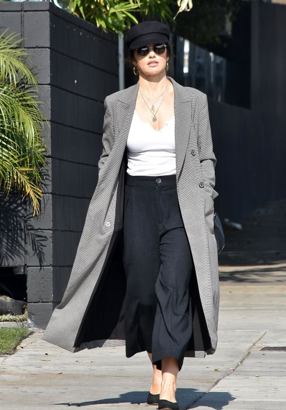 Minka Kelly Style - Nine Zero One Salon in Beverly Hills 01/29/2019