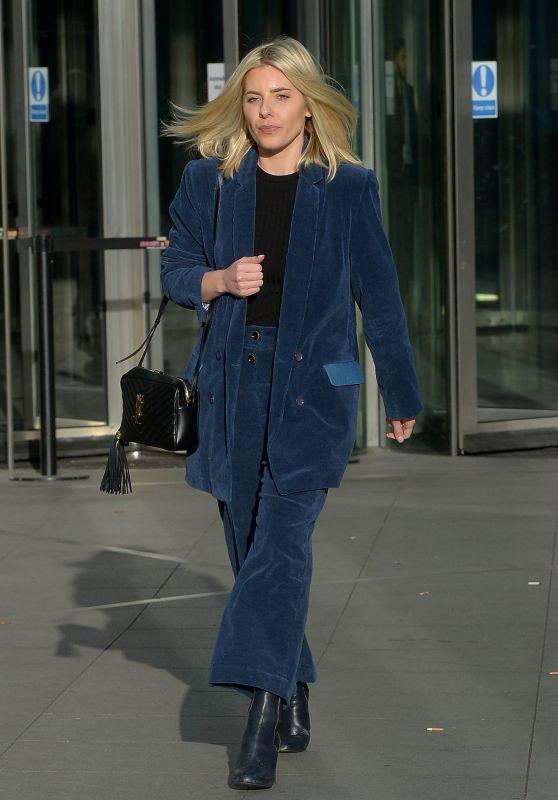 Mollie King at BBC Radio 1 in Studios London 01/20/19