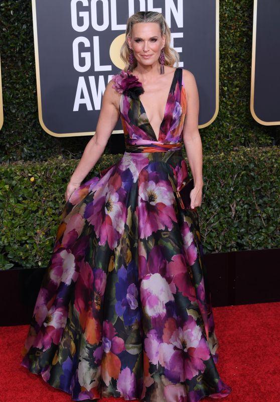 Molly Sims – 2019 Golden Globe Awards Red Carpet