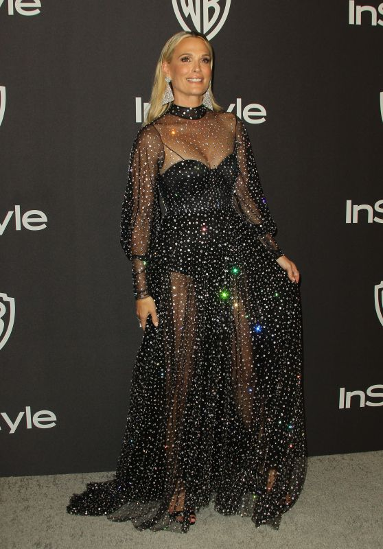Molly Sims – InStyle and Warner Bros Golden Globe 2019 After Party