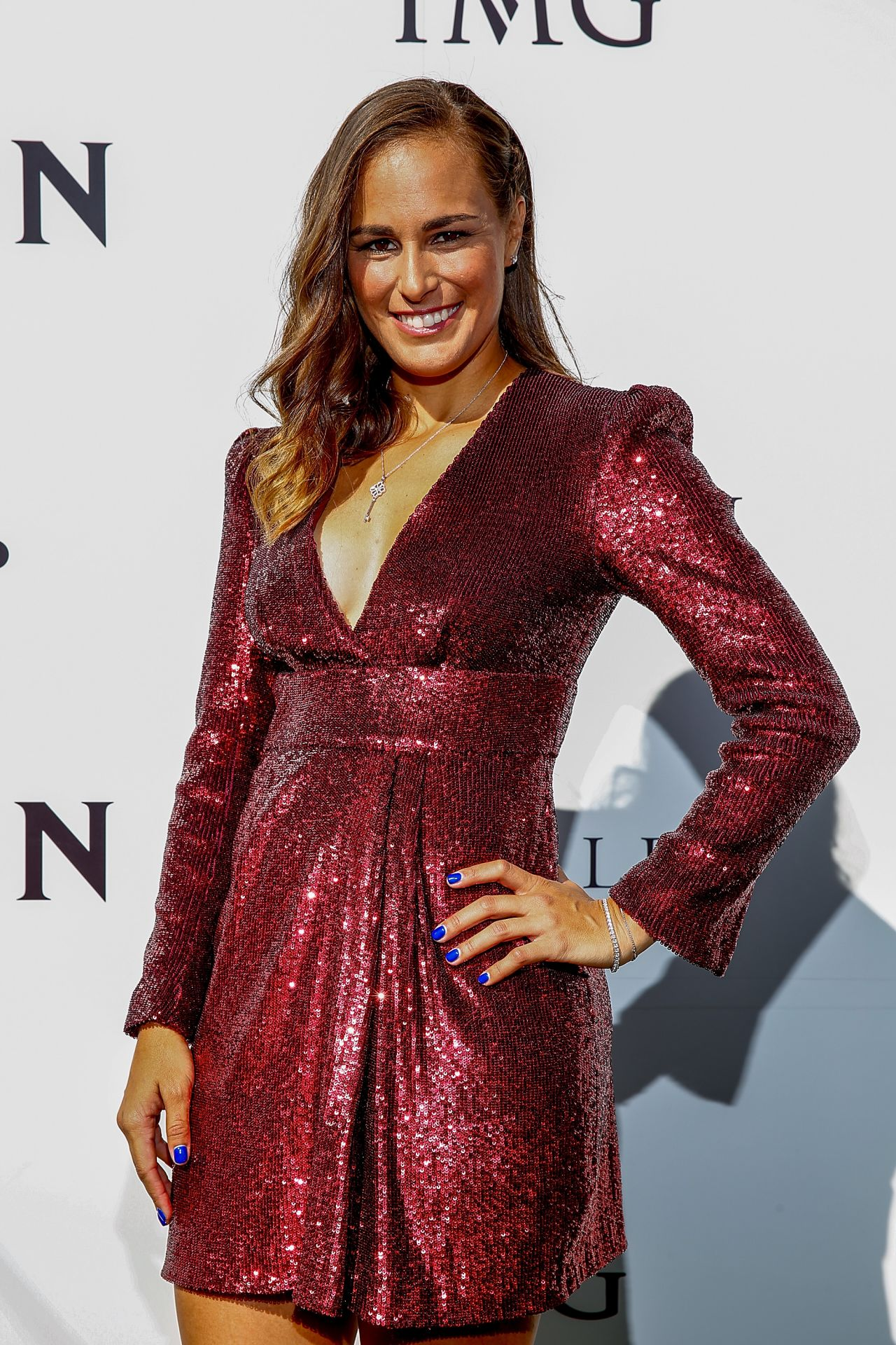 Monica Puig – Crown IMG Tennis Party in Melbourne 01/13/2019