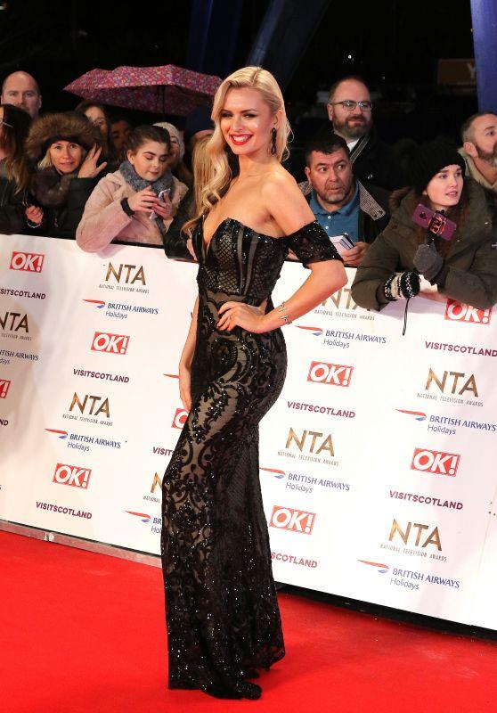 Nadiya Bychkova – National Television Awards 2019