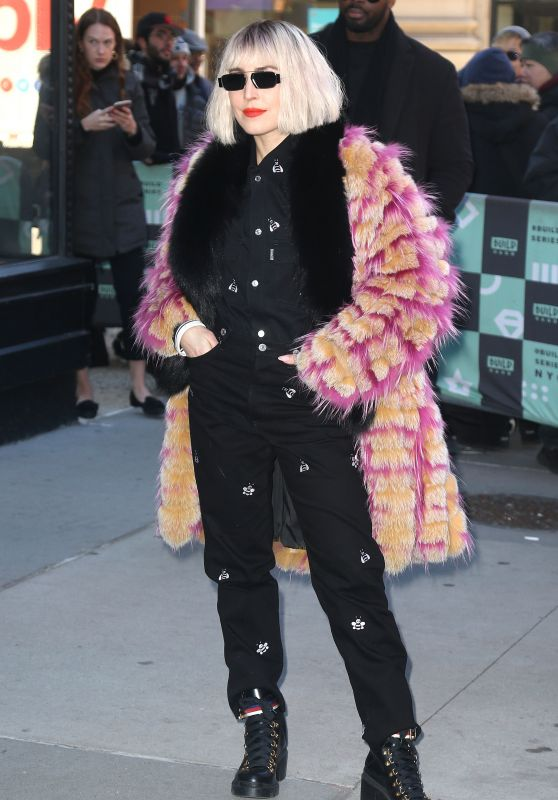 Noomi Rapace - Outside BUILD Studio in NYC 01/14/2019