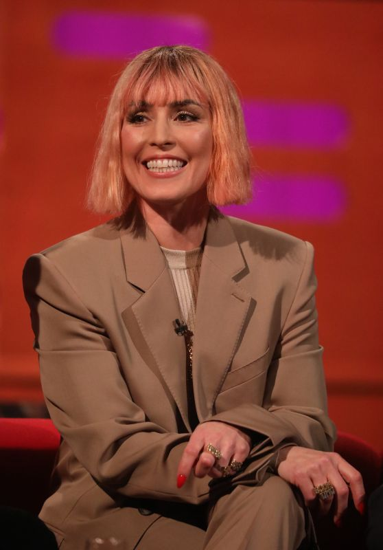 """Noomi Rapace - """"The Graham Norton Show"""" in London 01/24/2019"""