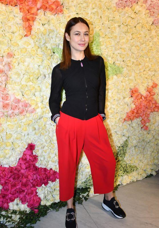 Olga Kurylenko - Schiaparelli Haute Couture Spring Summer Fashion Show in Paris 01/21/2019