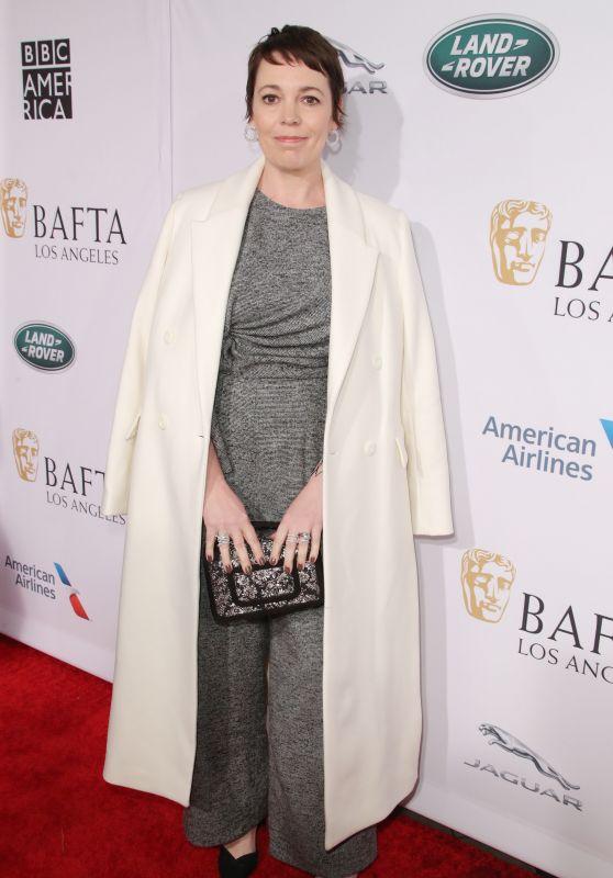 Olivia Colman – BAFTA Tea Party in LA 01/05/2019