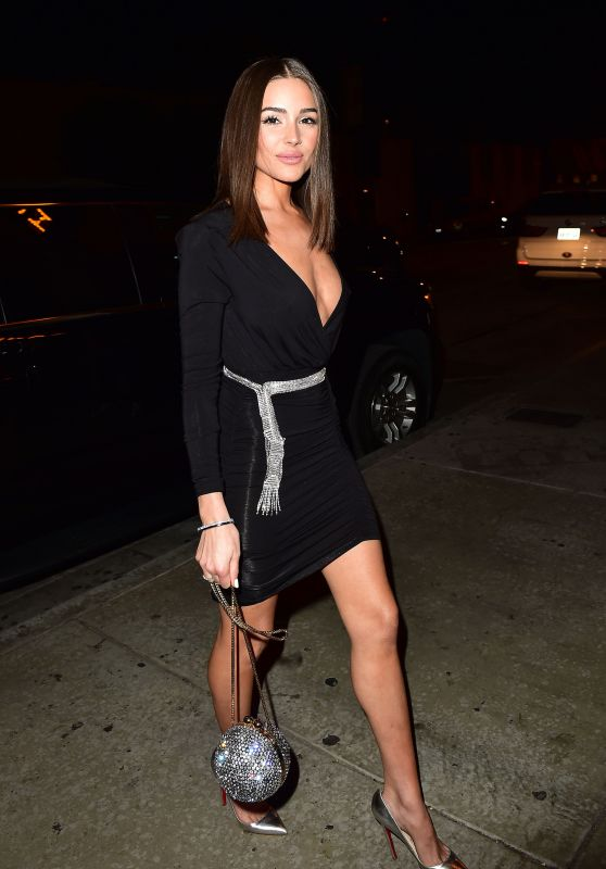 Olivia Culpo Night Out Style 01/24/2019