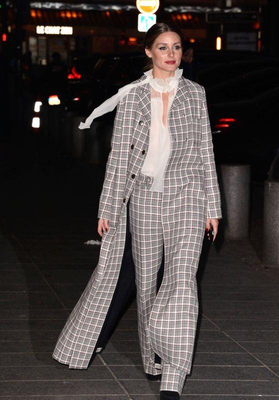 Olivia Palermo – Giambattista Valli Haute Couture Spring-Summer 2019 Show in Paris
