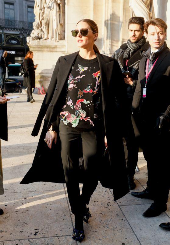 Olivia Palermo – Schiaparelli Haute Couture Spring Summer Fashion Show in Paris 01/21/2019