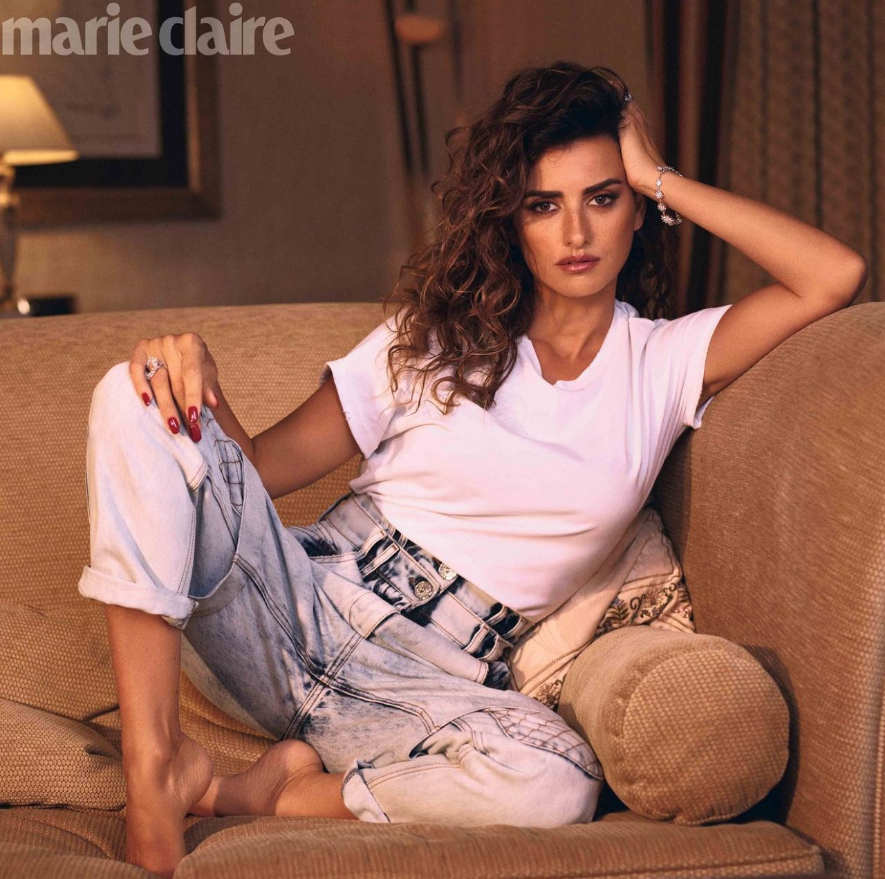 Penelope Cruz - Marie Claire Us February 2019 Cover And Photos-8838