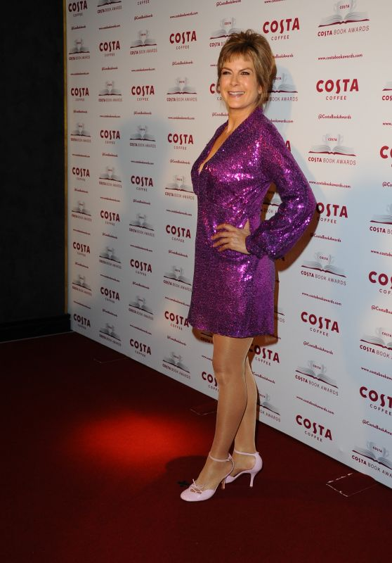 Penny Smith - 2019 Costa Book Awards in London