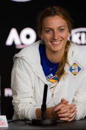 Petra Kvitova – Talks to the Press, Australian Open 01/22/2019