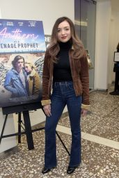 "Peyton List - ""Anthem of a Teenage Prophet"" Special Screening and Q&A in Hollywood"