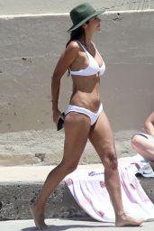 Pia Miller in a White Bikini 01/09/2019