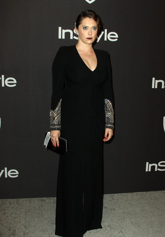 Rachel Bloom – InStyle and Warner Bros Golden Globe 2019 After Party