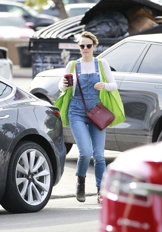 Rachel McAdams - Shopping in LA 01/10/2019