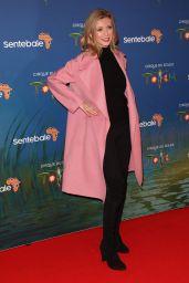 """Rachel Riley – Cirque du Soleil """"Totem"""" Premiere in London 01/16/2019"""
