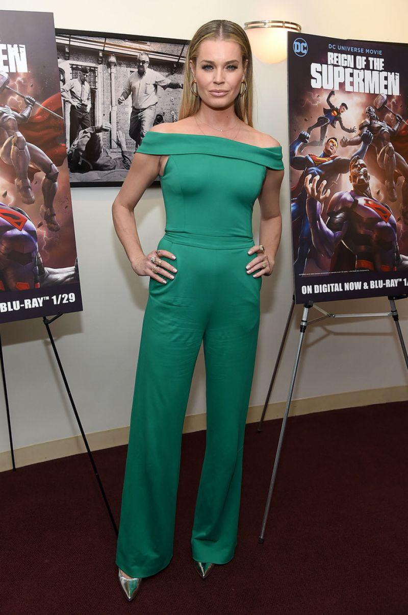 Rebecca romijn reign of the supermen premiere in nyc - Rebecca romijn measurements ...