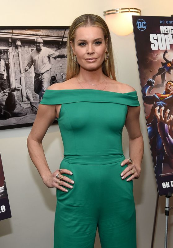 "Rebecca Romijn - ""Reign Of The Supermen"" Premiere in NYC"