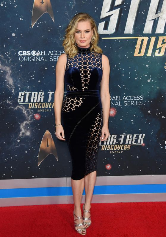 "Rebecca Romijn - ""Star Trek: Discovery"" Season 2 Premiere in NYC"