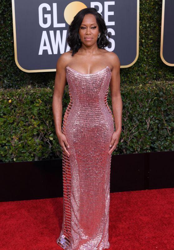 Regina King – 2019 Golden Globe Awards Red Carpet