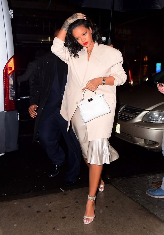 Rihanna Night Out in NYC 01/29/2019