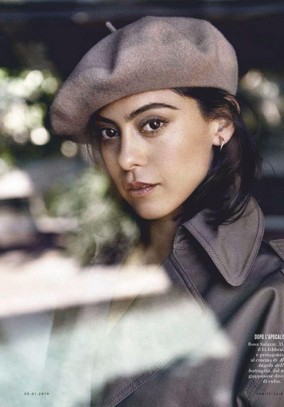 Rosa Salazar - Vanity Fair Italia, January 2019
