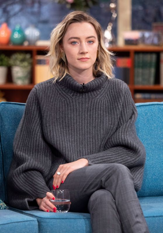 Saoirse Ronan - This Morning TV Show in London 01/17/2019