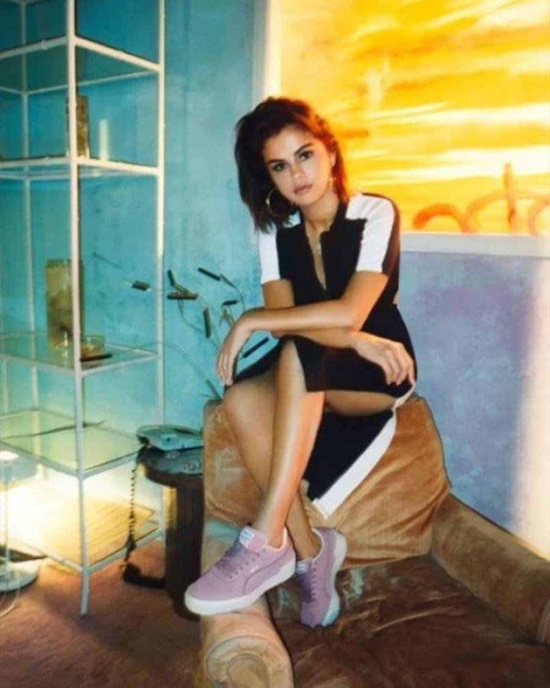 3779951f099567 Selena Gomez - Cali Nubuck Puma Photoshoot 2019