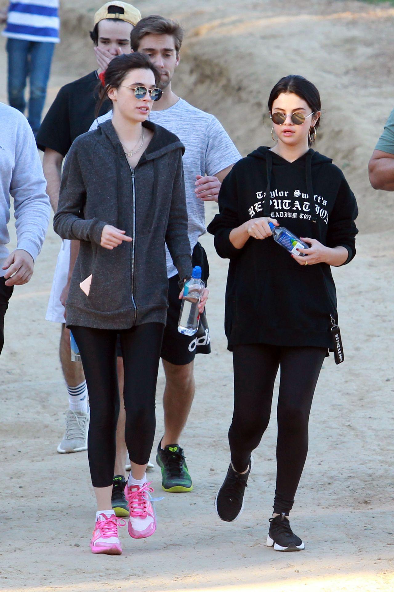 Selena Gomez Hiking In La 01 04 2019