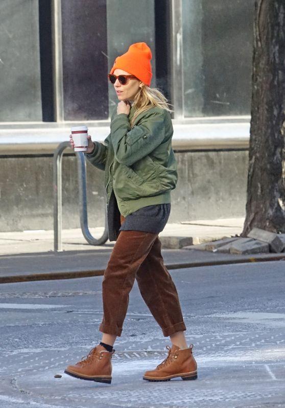 Sienna Miller and Tom Sturridge - New York 01/22/2019