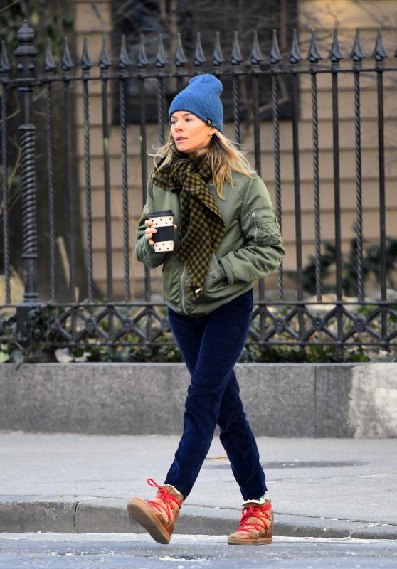 Sienna Miller Street Style 01/15/2019