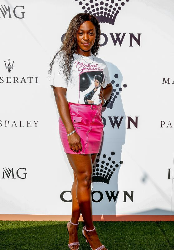 Sloane Stephens - Crown IMG Tennis Party in Melbourne 01/13/2019