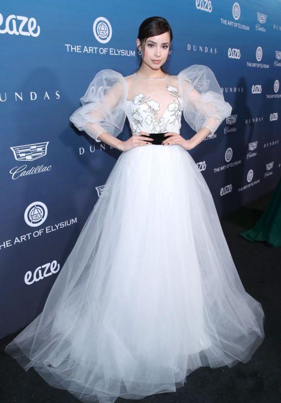 "Sofia Carson – The Art of Elysium's 12th Annual ""Heaven"" Gala"