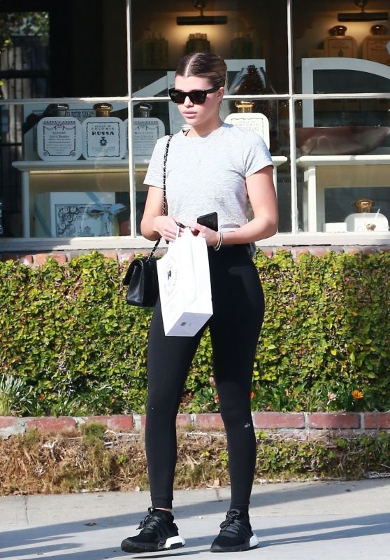 Sofia Richie in Workout Gear 01/28/2019