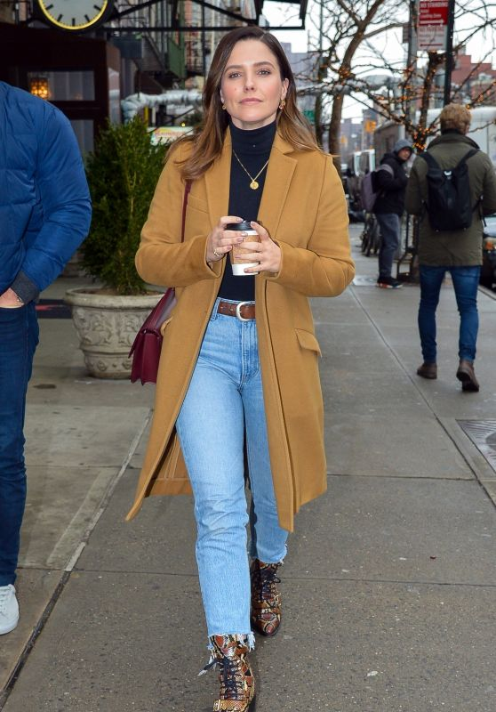 Sophia Bush Chic Street Style 08/01/2019