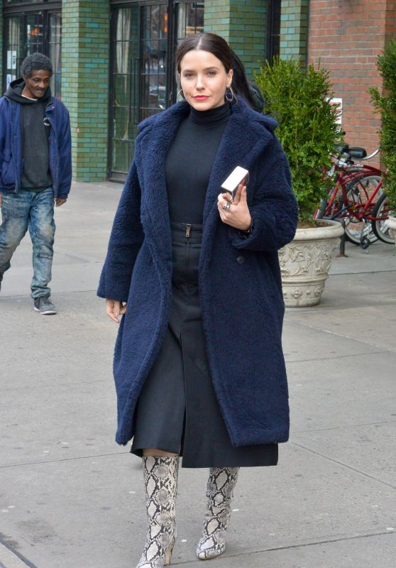 Sophia Bush Style - Out in New York 01/09/2019
