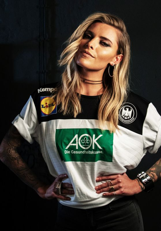 Sophia Thomalla - Photoshoot for Handball World Cup 2019