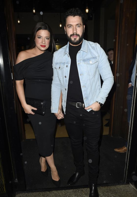 Sophie Austin - Faye Brookes and Gareth Gates Engagement Party in Manchester City