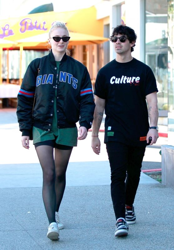 Sophie Turner and Joe Jonas - Shopping at Lorenzo in West Hollywood 01/25/2019