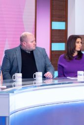 "Stacey Solomon and Andrea McLean - ""Loose Women"" TV Show in London"