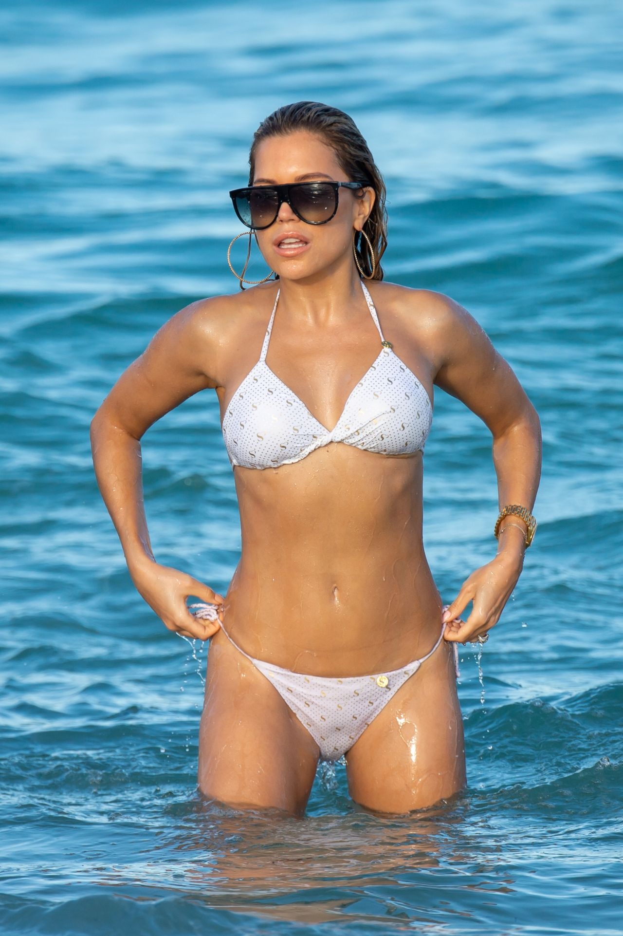 Betere Sylvie Meis in Bikini on the Beach in Miami 01/01/2019 MZ-33