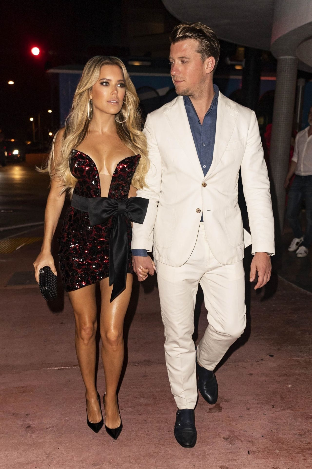 Sylvie Meis Night Out Style 01/01/2019