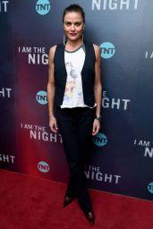 "Tara Westwood - ""I Am The Night"" TV Show Premiere in New York"