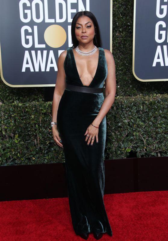 Taraji P. Henson – 2019 Golden Globe Awards Red Carpet