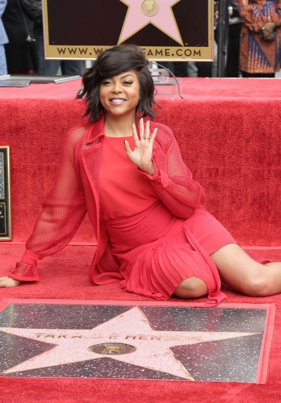 Taraji P. Henson - Honored With aSstar on the Hollywood Walk of Fame in Hollywood 01/28/2019