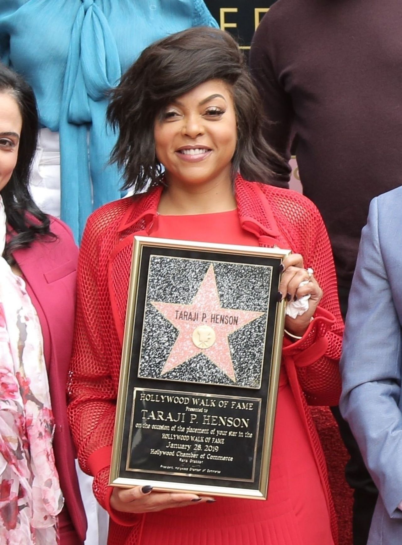 Taraji P Henson Honored With Asstar On The Hollywood Walk Of Fame In Hollywood 01 28 2019