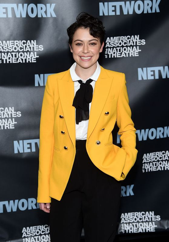 "Tatiana Maslany - The American Associates Of The National Theatre Celebrate ""Network"" in NYC"